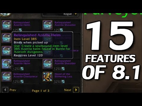 patch notes 8.1 wow bfa