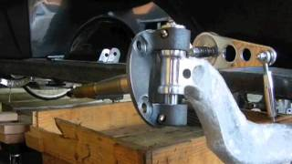 Install Early Ford Spindle