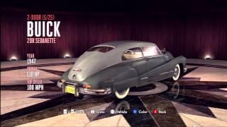 LA Noire Vehicle Guide - 2 Door Buick 2DR Sedanette