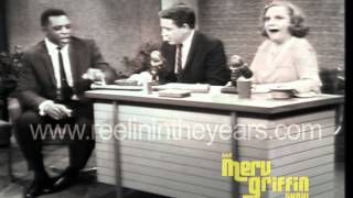 Willie Mays/Tallulah Bankhead interview (Merv Griffin Show 1966)