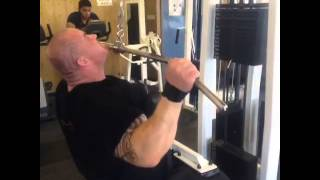 training back with sound - under construction the freak/ bodybuilding