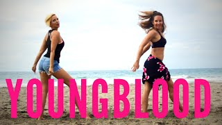 Youngblood Easy Choreo Dancefit/ Zumba/ Cardio Workout 5 Seconds of summer Video