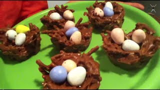 Birds Nest Easter Snack!