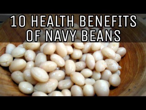 10 HEALTH BENEFITS OF NAVY BEANS