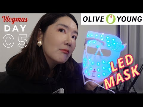 what's-popular-at-oliveyoung-offline!-led-mask101