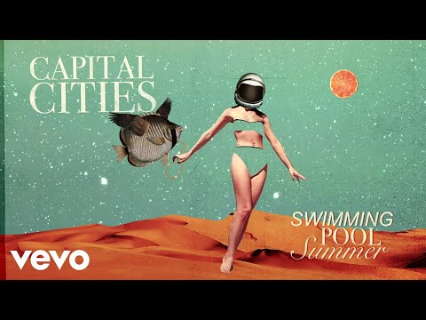 Capital Cities - Swimming Pool Summer (THCSRS Remix/Visualizer)
