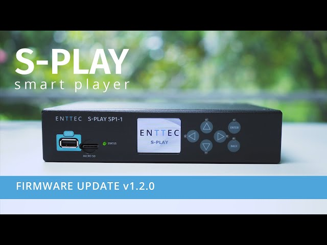 S-PLAY firmware update v1.2.0