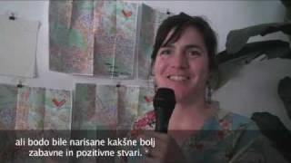(www.vest.si) Lexa Walsh o projektih v Ljubljani