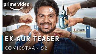 Comicstaan - Season 2 (Official Teaser) | Zakir Khan | Amazon Original 2019