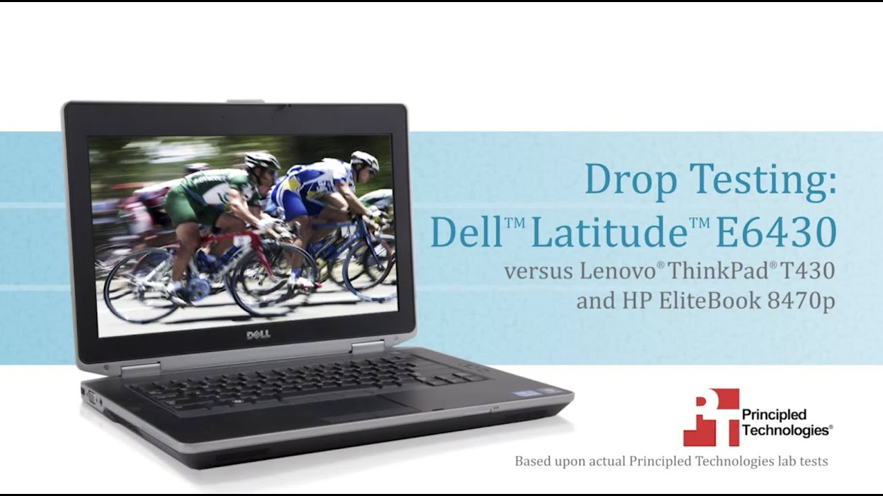 Drop Test Dell Latitude E6430 Vs Hp Elitebook 8470p Lenovo Thinkpad T430 Youtube
