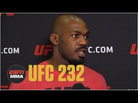 Jon Jones talks UFC 232, Daniel Cormier relinquishing belt | ESPN MMA