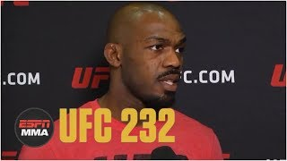 Jon Jones talks UFC 232, Daniel Cormier relinquishing belt | ESPN MMA