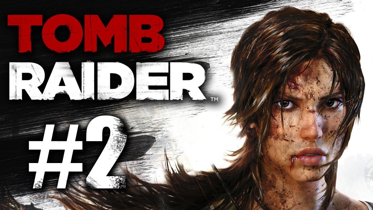Tomb Raider 2013 Gameplay Walkthrough Part 2 Wolves Xbox