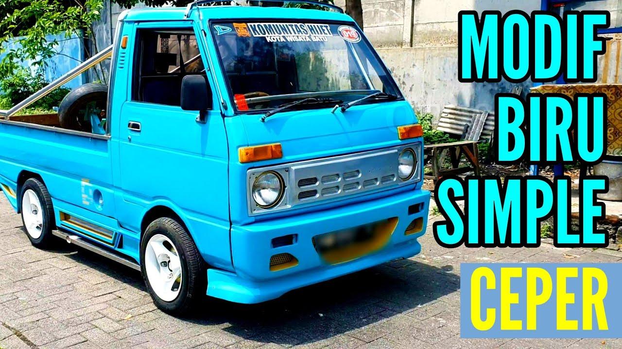 32+ Foto Modifikasi Mobil Pick Up Hijet 1000 Terkeren ...