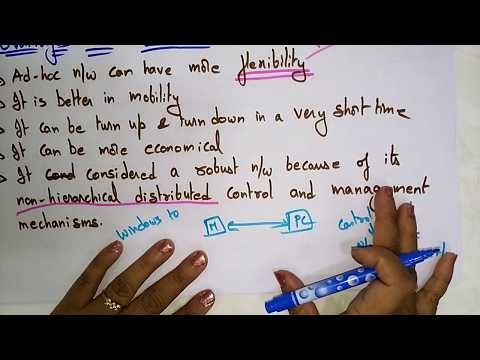 What Is Ad Hoc Network   Adhoc Networks   Lec-2  Bhanu Priya