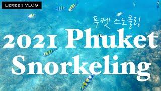 태국 브이로그ㅣ푸켓 바다 5분 스노클링, Phuket …