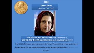 List of Muslim Nobel Prize Winners