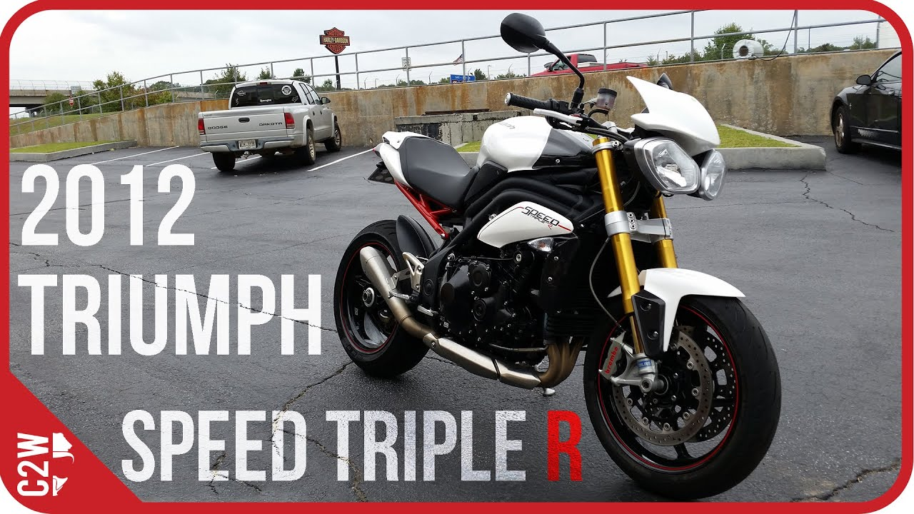 2012 triumph speed triple r first ride youtube. Black Bedroom Furniture Sets. Home Design Ideas