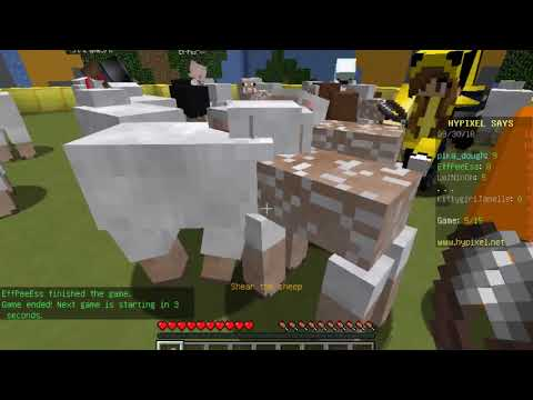Simon Says in Minecraft: First Minecraft Video Ever: Hypixel