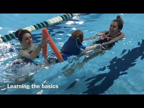 Adapted Aquatics for Youngsters at SEA Academy for Autism