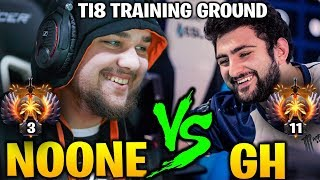 No[o]ne Shadow Fiend vs GH Dark Willow Hearts of Misrule - TI8 Training Ground