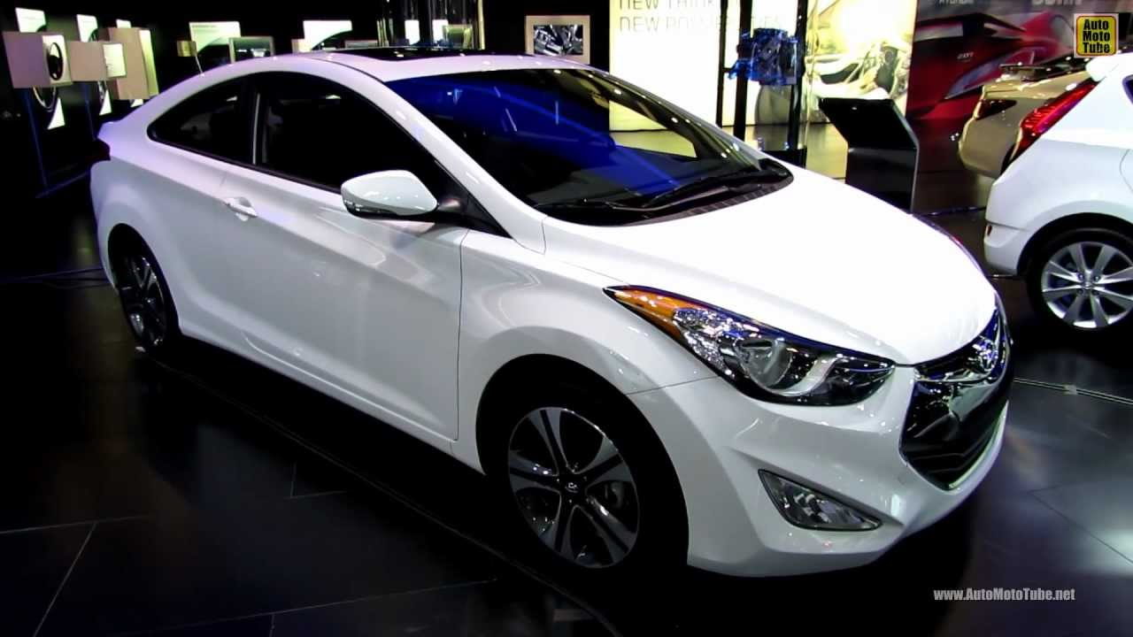Hyundai Elantra Coupe >> 2013 Hyundai Elantra Coupe Exterior And Interior Walkaround 2013