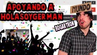 REACCIONANDO A SUS VIDEOS | APOYANDO A HOLASOYGERMAN | Promo de Canales