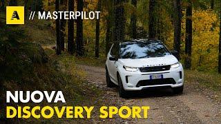 Nuova Discovery Sport Con il SUV di Land Rover nei pressi della Via del Sale