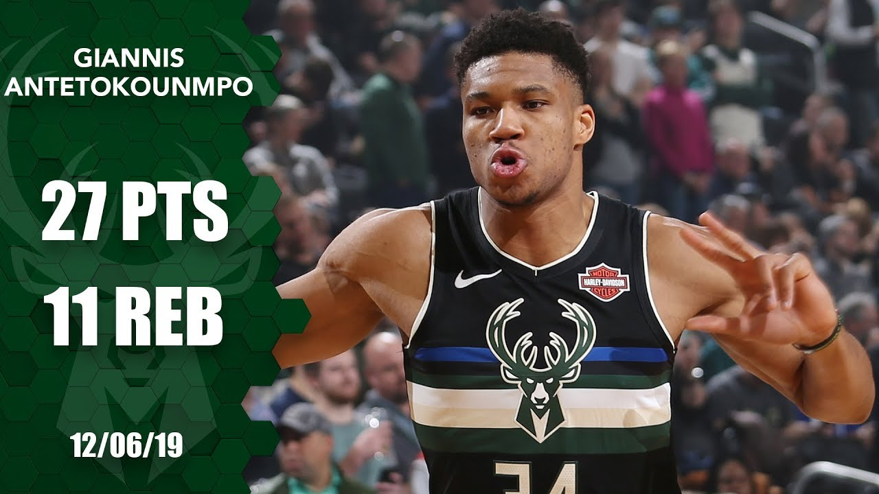 Giannis Antetokounmpo shows out vs. Clippers on his 25th birthday | 2019-20 NBA Highlights
