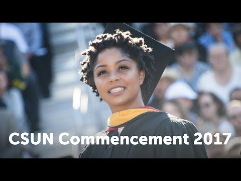 CSUN Commencement 2017: Engineering & Comp. Sci. and Science & Mathematics