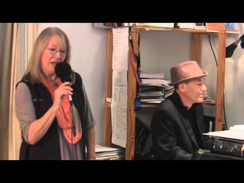 Shelby Flint & Gregg Karukas - Candid rehearsal for Holiday Jazz -  2013