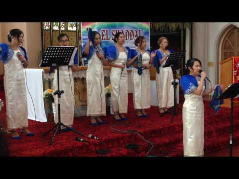 El Shaddai Newcastle Chapter UK 10th Anniversary Celebration Our Father