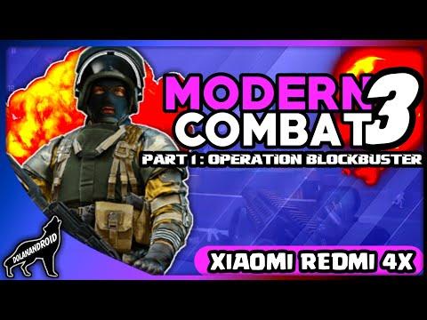 Modern Combat 3 Part 1 - XIAOMI REDMI 4X GAMEPLAY
