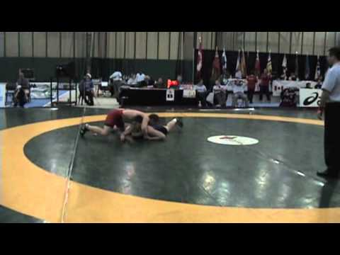 2009 Junior National Championships: 84 kg Greco Addison Bree vs. Scott Wheatley