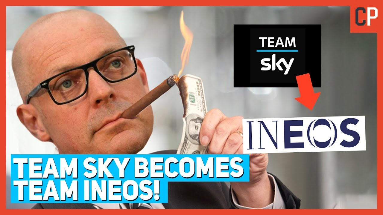 Team Sky Becomes Team Ineos
