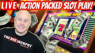 🔴 LIVE Action Packed Slot Jackpots! 🎰 HUGE WIN$💥| The Big Jackpot