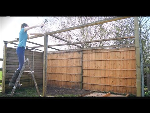 Diy Hay Barn Youtube