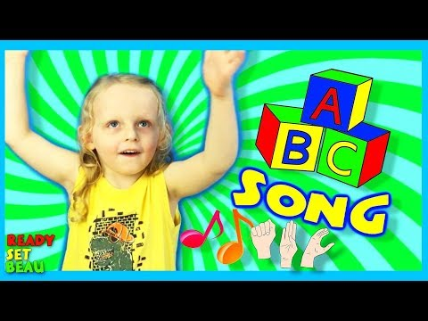 ABC SONG WITH SIGN LANGUAGE | BOY WITH AUTISM YOUTUBE CHANNEL