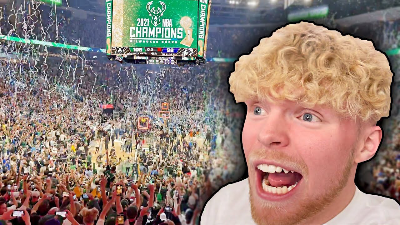 I Witnessed The Bucks Win The NBA FINALS In Person…