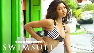 Danielle Herrington Shakes Her Hips Your Way In The Rain   Outtakes   Sports Illustrated Swimsuit