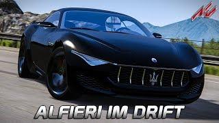 Driften in der Zukunft!   Assetto Corsa German Gameplay [GER] [HD] Maserati Alfieri @ Highland Drift