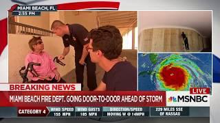 MSNBC Jacob Soboroff Doris Hurricane Irma Miami Beach FD Katy Tur No I Don't Have Friends