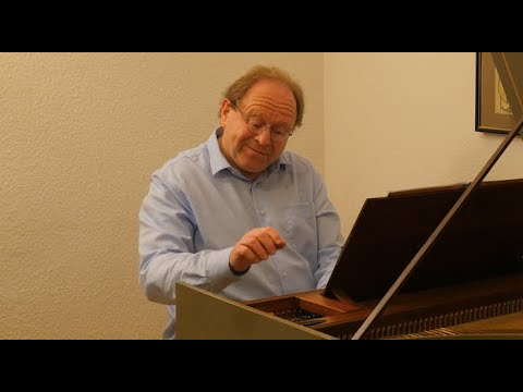 J.S. Bach: French Suite no. 1, BWV 812 - Zvi Meniker, harpsichord