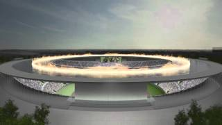 Tokujin Yoshioka reveals alternative vision for Tokyo Olympic stadium