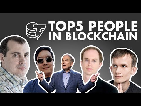 TOP 5 People in Blockchain