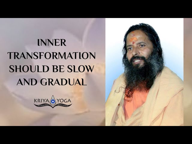 Inner Transformation Should Be Slow and Gradual