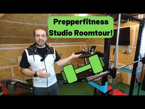 Prepperfitness - Roomtour durch mein Heimstudio! ????????????