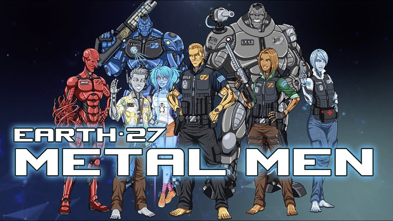 Earth-27 Metal Men