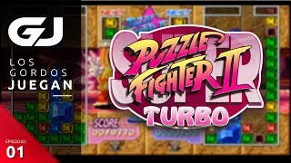 Super Puzzle Fighter II Turbo HD Remix, Los Gordos Juegan | 3GB
