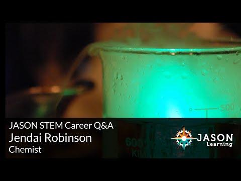 Jendai Robinson, Chemist: JASON STEM Role Model Q&A